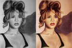 Beyonce colorize 3 by silene7