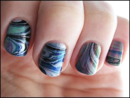 Sea Shell Water Marble by Alchemical
