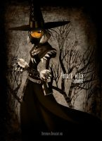 Pumpkin Witch by CottonValent