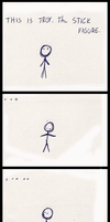 Troy the Stick Figure by krazybox