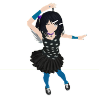 MMD Dream Theater:OC: Kageko by LauEspi97