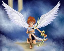 Kid Icarus-Pit by Cloudghost