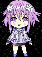 Neptune from Hyperdimension Neptunia by DarkSaph