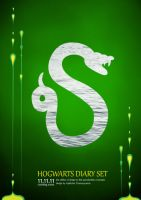Slytherin Poster by ProfBell