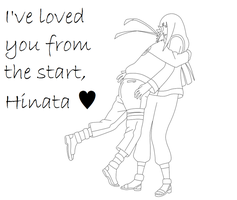 I've Loved You From The Start, Hinata by oOQuietSnowOo