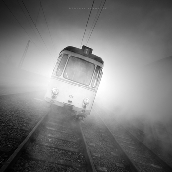 The Fog Train by DREAMCA7CHER