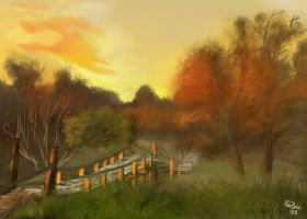 Landscape Sketch 5 by Pretty-Angel