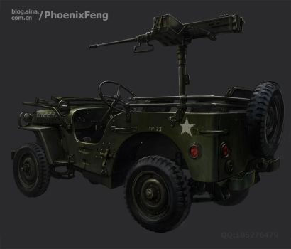 WILLYS JEEP by phoenix-feng