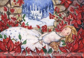 Sleeping Beautys Christmas by JoannaBromley