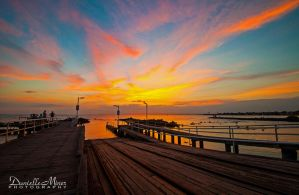 Williamstown Sunset 3 by DanielleMiner