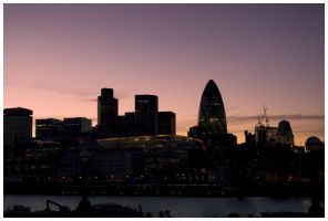 Sunsets Over London by dxd