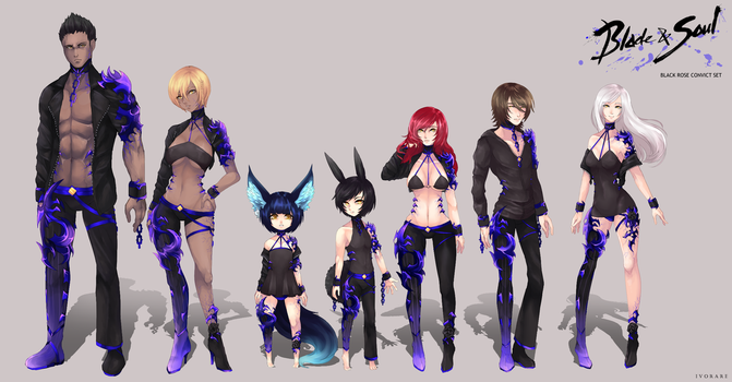 Blade and Soul Costume Design Contest 2016 by iVorare