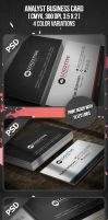 Analyst Business Card by VadimSoloviev