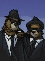 bears - bear brothers by Equattro