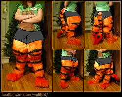 Digitigrade gryphon pants by Wolfbird