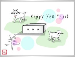 Year of Sheep in the box by broom-rider