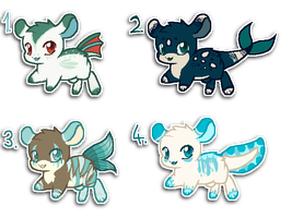 Leaping adopts #2 - auction {closed} by Ivon-Cheetah
