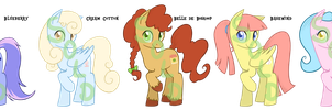 Pony Adoptables 4 - SOLD by TariToons