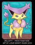Delcatty sketch card (SOLD) by Bright-Raven