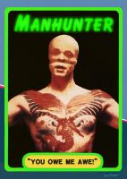 Manhunter Trading Card by Hartter