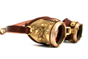 Steampunk Goggles number 3 by AmbassadorMann