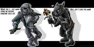 Fallout 3- forbidden love by Dinkysaurus