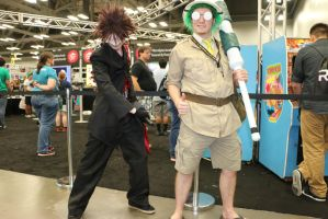 RTX 2015: Adam and Doctor Oobleck by pgw-Chaos