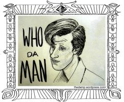 WHO da MAN by thedamp