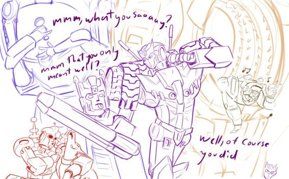 Karaokeformers: And You Decided This by purinpuff