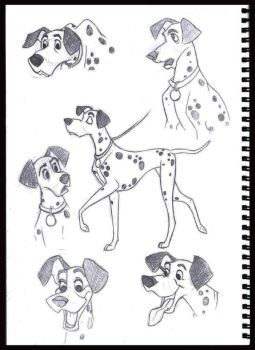 Pongo sketches 2 by supernaturalsarah