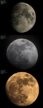 Moon December 24-26 2012 by laurapalmerwashere