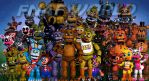 All aboard the FNAF World Hype Train.... by Azelf101
