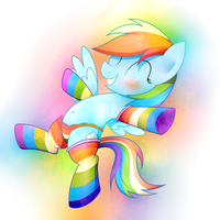 Rainbowfie! by HeavyMetalBronyYeah