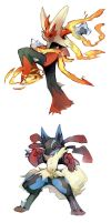 Mega Evolution by NoneNess