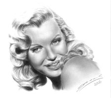 Marilyn Monroe by StingingPistol