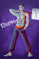 Kisame - Great White Shark by zabbs
