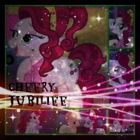 ( MLP ) Cherry Jubilee Collage by KrazyKari