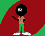 marvin the martian his holiday dress by h-perales3