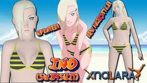 Naruto UNS3 - Ino (Swimsuit) FOR XPS UPDATED!! by MVegeta