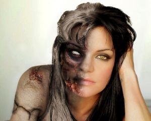 Pauley Perrette Abby as Hel  Goddess of the dead