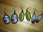 aretes nintendo by Dark-Unicor