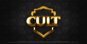 logo cult gold by thiagotasca