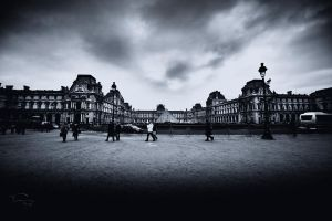 Musee du Louvre by fal-name