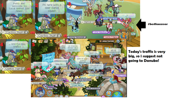 Local Animal Jam News #9 :ANIMAL JAM: by Anewdeath000