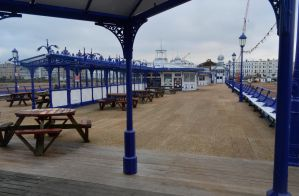 Eastbourne Pier View by Clangston