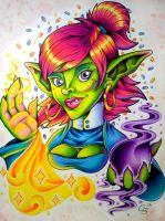 Goblin Priest by CraftyTibbles