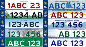 Commonwealth Universe License Plates by VulcanTrekkie45