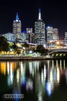 Melbourne Lights by c-Lockhart