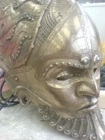 Close up of face detail by danielokeefe