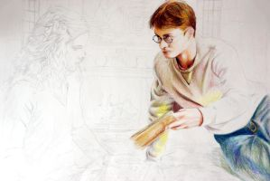 Harry Potter Sketch by Alena-Koshkar